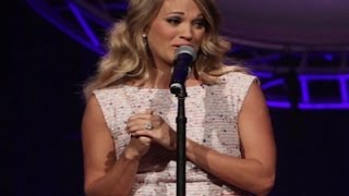 Download Lagu Carrie Underwood Tears Up at ACM Honors Event Gratis STAFABAND