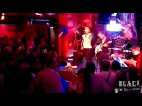 THE HAWKS | Concierto en Black Note Club | Septiembre 2014