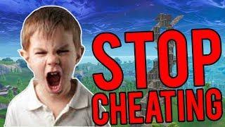He said I was cheating (TROLLING ANGRY KID)