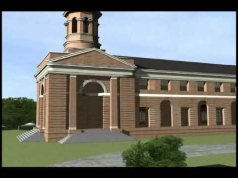 3 D Model : 3D modeling Animation of Forest Research Institute, (FRI)