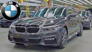 BMW 5 Series – PRODUCTION LINE – German Car Factory