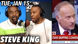 Tue, Jan 15: Jason Ottley on Health; Steve King Called 'Racist'