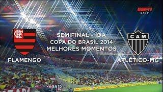 Melhores Momentos - Flamengo 2 x 0 Atlético-MG - Copa do Brasil - 29/10/2014