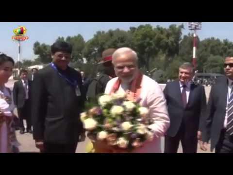 Narendra Modi leaves for Kazakhstan from Uzbekistan | Central Asia Tour
