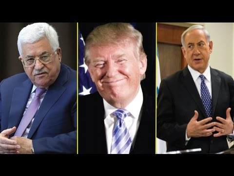 DONALD TRUMP JUST GOT ISRAEL AND PALESTINE TO AGREE ON THE IMPOSSIBLE!