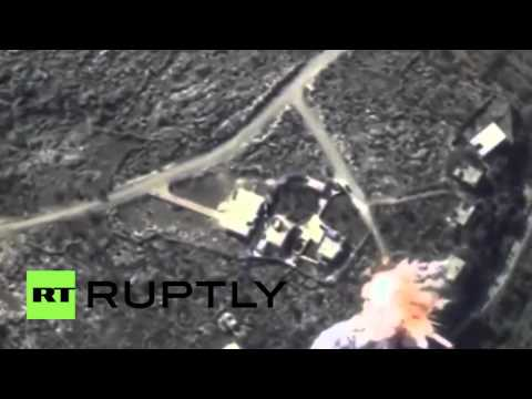 Syria: Russia unleashes cruise missiles on IS command centre in Idlib province
