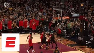 LeBron James buzzer-beater closes out Game 3 of Raptors vs. Cavaliers | ESPN