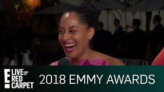 Tracee Ellis Ross Crashes E!'s Emmys After-Party | E! Red Carpet & Live Events