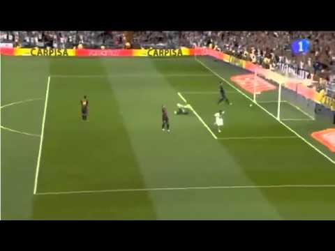 Real Madrid 2-1 FC Barcelona Gol Gonzalo Higuaín Supercopa De España 2012