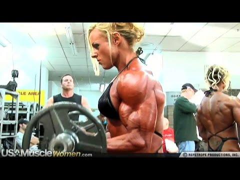 Kristy Hawkins - Female Muscle Fitness Motivation