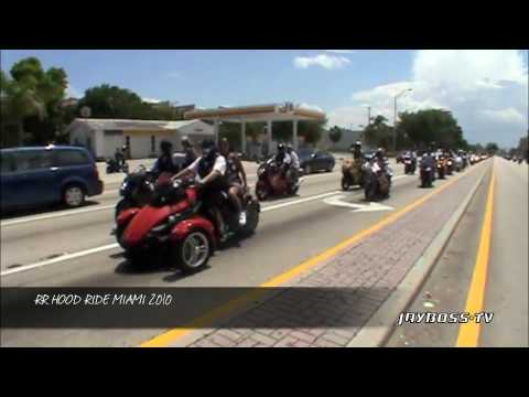 MIAMI NICE RUFF RYDERS HOOD RUN 2010