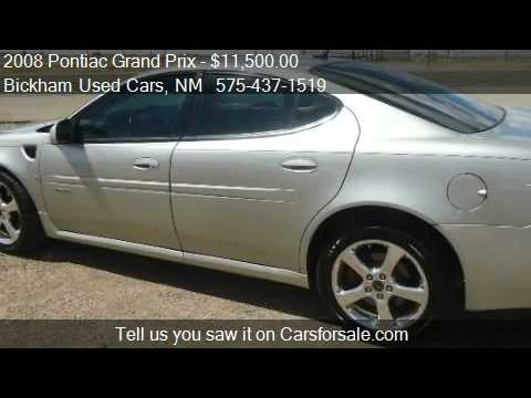 2008 Pontiac Grand Prix GXP Sedan for sale in Alamogordo, NM
