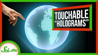 "A Potential New Staph Vaccine and Touchable ""Holograms"""