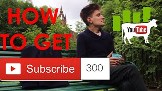 HOW TO GET 300 SUBSCRIBERS IN ONE MONTH