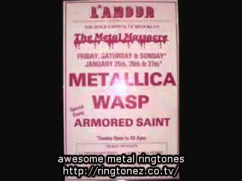 Awesome Metallica L  39 Amour Brooklyn January 25  1985  Audio