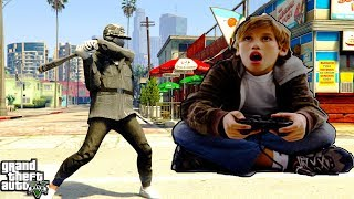 THE MOST SATISFYING VICTORY EVER! ANOTHER POOR MOUTH KID SMACKED (GTA 5 ONLINE)