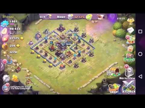 clash of lords 2 Best Defense Base for Town Hall 7