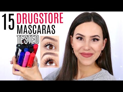 DRUGSTORE MASCARA REVIEWS    BEST & WORST    Essence Mascara 2017 + EYE PICTURES