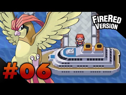Let's Play Pokemon: FireRed - Part 6 - S.S. Anne