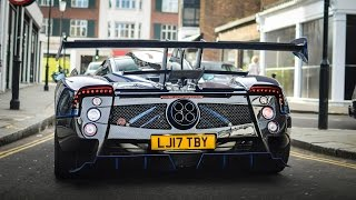 EXCLUSIVE: 1 of 1 Pagani Zonda Mileson SOUNDS in London!
