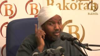 Arabic Lecture by Sh Abdirashid Sh Ali Sufi