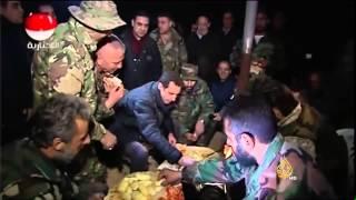 وكالة الأنباء السورية: الرئيس الأسد يزور حي جوبر