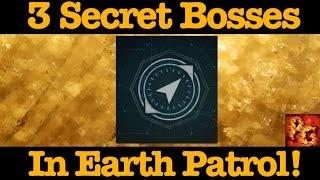 Destiny: 3 Secret Bosses In Cosmodrome Patrol! (Hidden Earth Ultras)