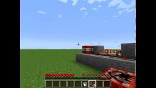 Minecraft: Wie baut man eine TNT Kanone ?