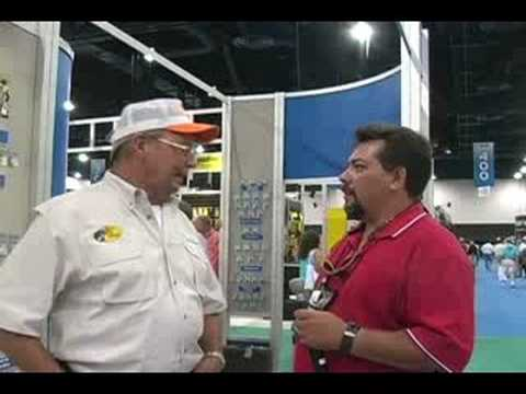 Dave Langston & Bill Dance 2008 ICAST Fishing Show