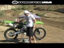 2009 Kawasaki KX250F - Motocross First Ride Video