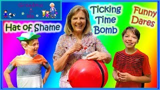 You're Busted! Fun Balloon Popping Game   Grandma and Me