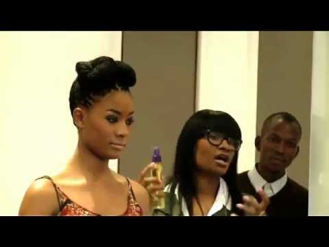 3 Quick and easy hairstyles by celebrity hair stylist Ursula Stephen, SA Fashion Week 2012