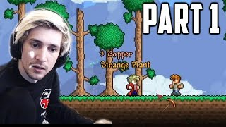 xQc Plays Terraria Calamity Mod with Chat! | Part 1
