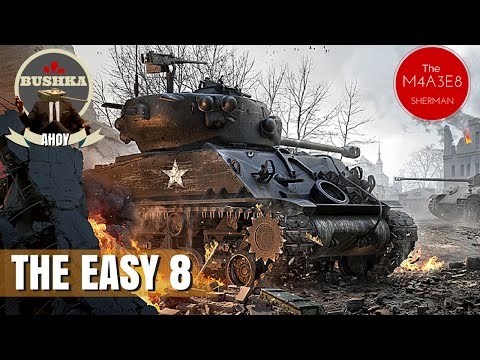 World of Tanks Blitz M4A3E8   The Easy 8 Review Guide How to Drive!