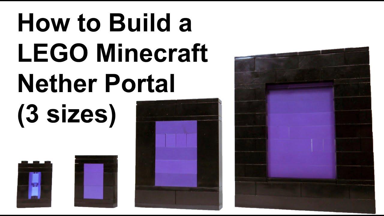 maxresdefault jpgLego Minecraft Nether Instructions