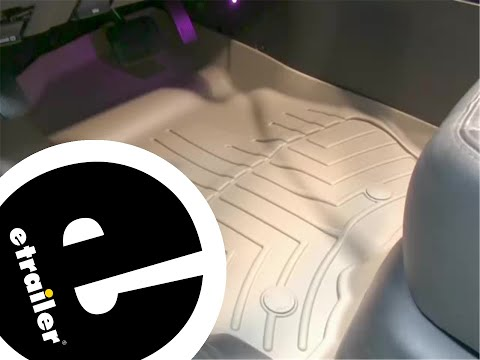 Review of a WeatherTech Front Floor Liner on a 2011 Ford Escape - etrailer.com