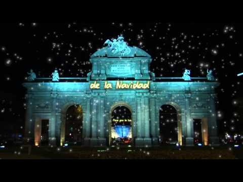 Madrid ciudad navidad encendido de la iluminaci n - Iluminacion de navidad ...