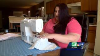 Rancho Cordova woman turns old wedding dresses into treasured gifts