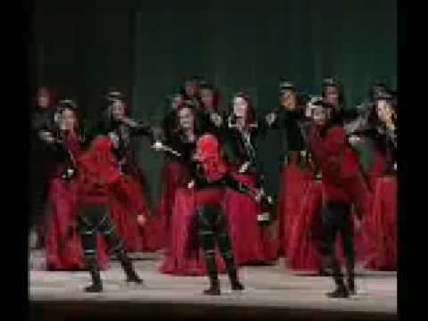 Georgian folk dance ansamble