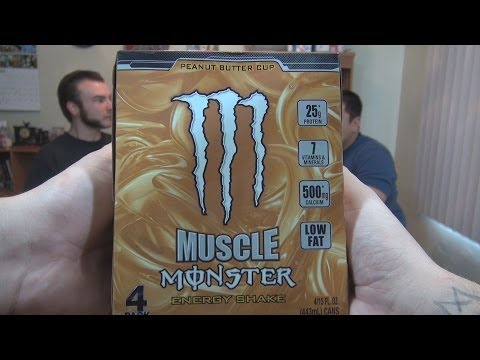 WE Shorts - Muscle Monster Peanut Butter Cup Energy Shake