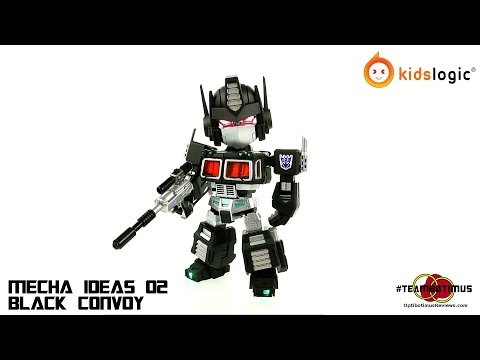 Video Review of the Kids logic: Black Convoy