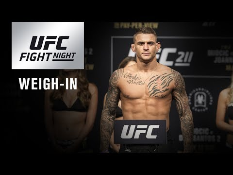 UFC Fight Night Glendale: Weigh-in