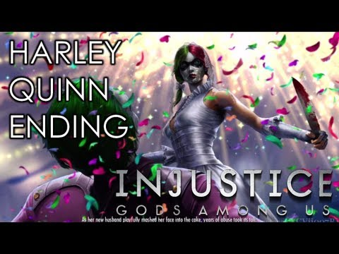 INJUSTICE: GODS AMONG US - HARLEY QUINN ENDING (Xbox 360/PS3/Wii U HD)