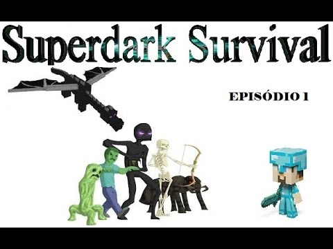 Mapa Superdark Survival com os filhotes