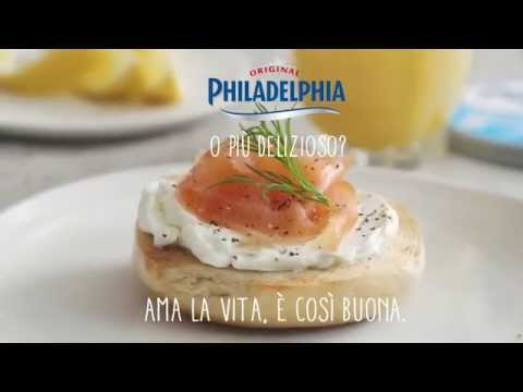 Bagel con salmone e Philadelphia pronto in 6 secondi