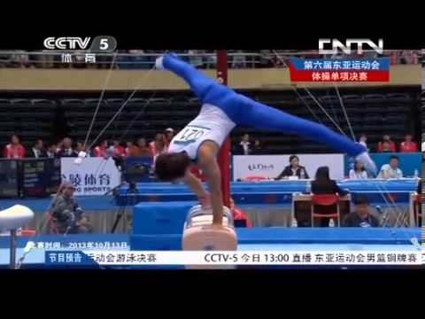 2013年第六届东亚运动会体操单项决赛 20131014