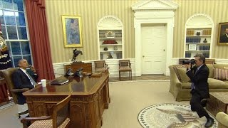 White House photographer Pete Souza