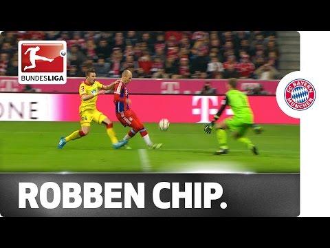 Arjen Robben's Magnificent Lobbed Goal