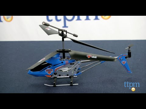 New York Knicks 3.5CH R/C Helicopter from World Tech Toys