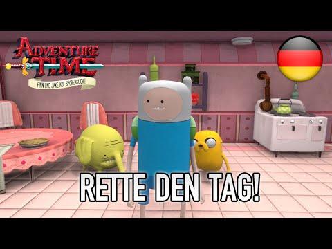Adventure Time Finn Und Jake Auf Spurensuche Rette Den Tag